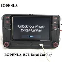 "BODENLA RCD330 Plus CarPlay APP Desai 6.5"" MIB Car Radio RCD330G For VW Tiguan Golf"