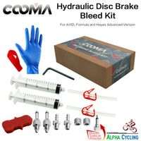COOMA CLIFF Hydraulic for SRAM AVID DOT Fluid Brake system Advanced Bleed Kit V1.2