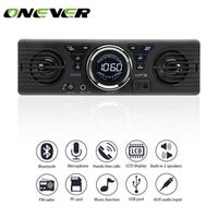 Onever 12V Car Radio Stereo Audio In-Dash MP3 Player Bluetooth Phone AUX-IN FM USB