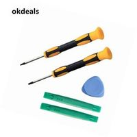 okdeals 5Pcs/Set Useful T8 T6 Screwdriver with Electronics Prying Tool Set