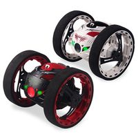 JIAJIALE 2.4G RC Bounce with Jumping LED Light Music Car