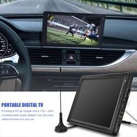 LEADSTAR DVB-T-T2 Portable with HDMI input 12.1 Inch Rechargeable Digital Color TV