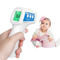 Cofoe Forehead Thermometer Gun Non-Contact Infrared LCD IR Temperature Measurement Diagnostic-tool Device For Baby Children