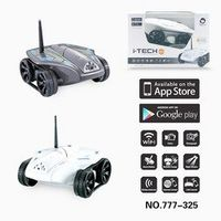 777-325 Wi-Fi RC Tank With 0.3MP HD Camera Support IOS phone or Android RC Toys