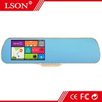 LSON 5 Inch Special Car DVR GPS Quad Core Android Rearview mirror Navigation WIFI