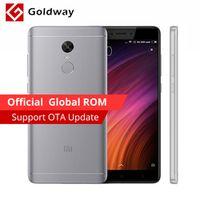 "Original Xiaomi Redmi Note 4X 4GB RAM 64GB ROM Mobile Phone MTK Helio X20 Deca Core 5.5"" 1920x1080 4100mAh MIUI 8 Fingerprint ID"