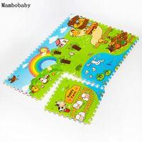 Mambobaby Baby Crawling Play Creeping Mat Climb Pad Puzzle