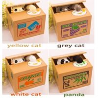 OUSSIRRO Automated Cat Steal 1PCS Money Saving Box