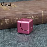 GonLeI ABS Square Dice Fidget Cube EDC Funny Anti Stress