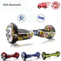 iScooter 8 Colors 6.5 Inch Hoverboard Bluetooth Two Wheels Self Balance Scooter
