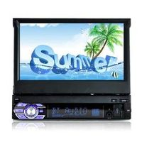Esunway 1 Din 7 Inch Bluetooth Retractable Touch Screen with Reverse Camera Car