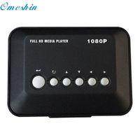 OMESHIN Factory HD 1080P USB Hard Drive Upscaling Multi Media Player MKV AVI RMVB
