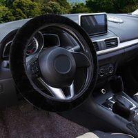 Winter Steering Wheel Cover+Handbrake Cover + car Automatic Covers / Warm Super Thick Plush Gear Shift Collar