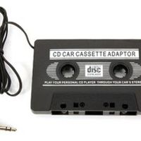 greattop 3.5mm AUX Input Car Cassette Tape Adapter Convertor Audio Cable MP3 Player