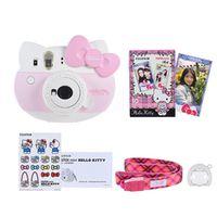 Fujifilm Instax Mini Instant Camera Hello Kitty Auto Flash Selfie Mirror w/ 10 sheets Film/ Close-up Lens/ Camera Strap/ Sticker