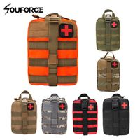 souforce Outdoor EDC Molle Tactical Pouch Emergency First Aid Kit Travel Camping