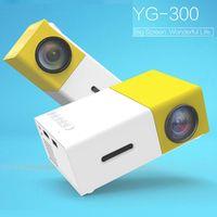 ViviBright YG300 Yellow Mini LCD 400-600 Lumens 320 X 240 Pixels HD Video 3.5mm Audio