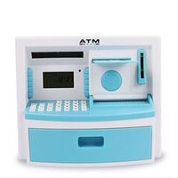 Children's educational toys tuba intelligent simulation ATM piggy bank teller machine password creative cartoon piggy bank