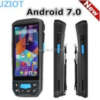 "JZIOT Android 7.0 PDA 5"" touch screen 2GB RAM Quad-core 2d barcode mobile handheld"