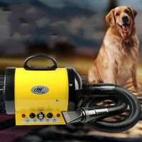 Silent pet dog water blower cat hair dryer animal bath