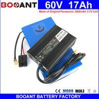 BOOANT 60V 17AH E-Bike Scooter Battery packs for Original Panasonic 18650