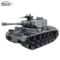 15 Channel 1/20 RC Tank Panzerkampfwagen German Panther 3 Main Battle Tank Model With Shoot Bullet