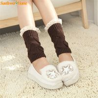 Womail Newly Design Women Solid Hollow Lace Knitted Short