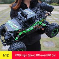 JJRC RC Car 1/12 4WD Remote Control High Speed Vehicle