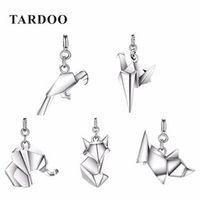 Tardoo Popular 925 Sterling Silver DIY Pendants for Women Statement Cute Animal Pendants Brand Fine Jewelry New Year Gifts