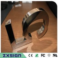 ZXSIGN Factory Outlet Outdoor stainless steel house number