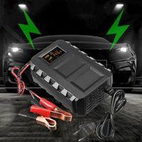 KROAK Intelligent 12V 20A Automobile Lead Acid Battery Charger Car Motorcycle