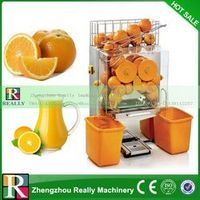 Free shipping 304 Stainless steel automatic electric orange juicer, industrial orange juicer machine
