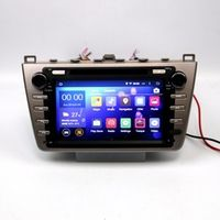 Beautytrees Quad core Android Stereo GPS Navigation Headunit For Mazda 6 Atenza