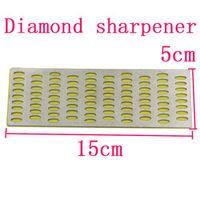 Diamond Sharpening Stone Block 15X5cm Coarse Kitchen Knife Sharpener Garden Shears Scissors Chisels Sharpening Hone Whetstones