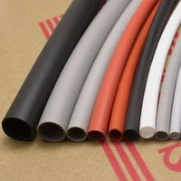 4mm Flexible Soft Silicone Heat Shrink Tubing Brand New High Quality