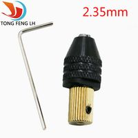 2.35mm Electric motor shaft Mini Chuck Fixture Clamp 0.3mm-3.5mm Small To Drill Bit Micro Chuck fixing device
