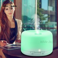 Portable USB Aroma Diffuser Car Air Humidifier Ultrasonic Aroma Lamp Essential Oil Diffuser Electric Fogger With Led Light
