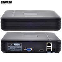 GADINAN Mini 8 Channel NVR Security Standalone CCTV NVR 8CH 1080P/12CH 960P ONVIF 2.0 Motion Detection CCTV NVR HDMI Output