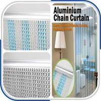 Metal Anodized Chain Door Curtain Against Flying Insects