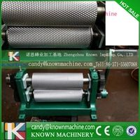 86*250mm Manual wax mill maker Beeswax Comb Foundation Roller Mill Machine cell size4.9mm
