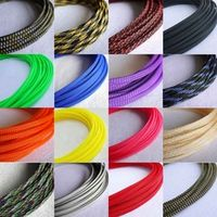 4mm Braided PET Expandable Sleeving New High Quality Solid Color 1M