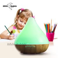 300ml Colorful Essential Oil Diffuser Ultrasonic Humidifier Aroma Lamp Aromatherapy Electric Aroma Diffuser Mist Maker For Home