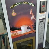 Coin acceptor Coffee vending machine 4 Hot & 4 Chilled Premixed Drinks