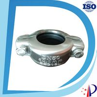 """DN 150  6""""  159 mm 1200 psi Stainless Steel 316 Flexible Pipe Clamp Coupling"""