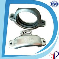 SS316L Stainless Steel grooved coupling DN100 4'' for pipe fitting