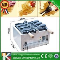 110V/220V Japanses open mouth taiyaki machine | electric fish shaped cake machine | ice cream taiyaki maker