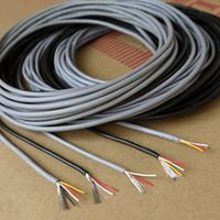 28AWG 3Cores UL2547 Multicores Controlled Cable Shielding Wire Headphone