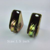 """1.5Inch Sliding Gate Roller Outer support groove """"U"""" with 1PCS 6000RS Bearing"""