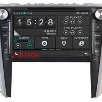Beautytrees indash Radio DVD Headunit For TOYOYA CAMRY car stereo gps navigation