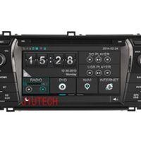 Beautytrees Car Radio SatNav DVD Player Stereo Headunit For TOYOTA COROLLA